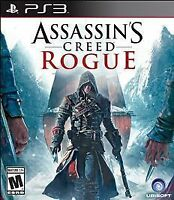 Assassin's Creed Rogue (Sony PlayStation 3, 2014) NEW FAST SHIPPING UBISOFT PS3