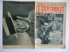 Le film complet du mardi n°1377- 1933 Aimez-moi ce soir par Jean Marin