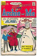 Archie And Me 33 1970 FN Snowman Snow Job Blow Sex Joke Double Entendre
