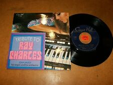 JEAN MUSY - TRIBUTE TO RAY CHARLES  - EP FRENCH / LISTEN - MOD ORGAN POPCORN