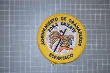 Mexico Police Agrupamiento De Granaderos Espartaco Patch (B11)