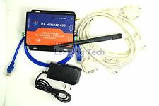 USR-WIFI232-630 Serial RS232/RS485 to Wifi Server With 2 Channel RJ45 + Adapter