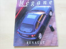 52208) Renault Megane Coach Prospekt 11/1995