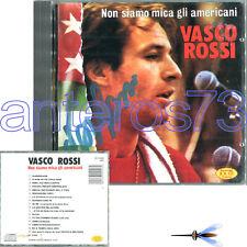 """VASCO ROSSI """"NON SIAMO MICA GLI AMERICANI"""" RARISSIMO CD 1988 JOKER - AUTOGRAFATO"""