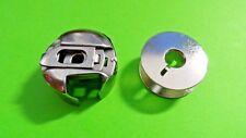 Pfaff Umlaufgreifer Spulenkapsel + 1 Spule für Pfaff und Gritzner Nähmaschinen