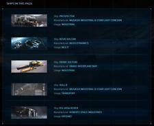 Star Citizen - PACKAGE - ENTREPRENEUR PACK - 5 Ships - LTI - SC - SQ42