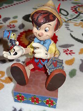 DISNEY TRADITIONS ! JIM SHORE ! PINOCCHIO ANNIVERSAIRE ! FIGURINE ! NEUF !