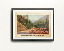 Twin Peaks. Limited Edition Print. David Lynch. Agent Cooper (Prints / Posters)