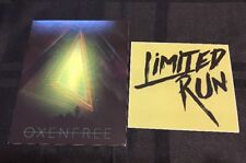 Oxenfree Limited Run Games Post Card + Sticker - Rare Lot