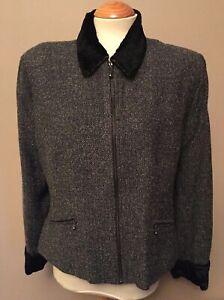 Charlotte Halton for R.I. Clothing - Grey Lined Jacket - UK 14/ EUR 40 - Used