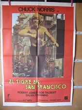 A1858 EL TIGRE EN SAN FRANCISCO CHUCK NORRIS