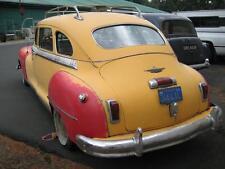 Photo. 1947 DeSoto Suburban automobile - rear