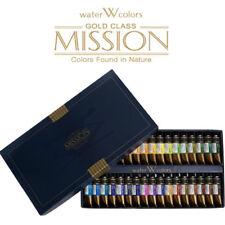 Mijello Mission Gold Class MWC-1534 15ml tube X 34Colors Watercolor Paints
