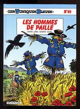 TUNIQUES BLEUES T 40  LES HOMMES DE PAILLE  LAMBIL / CAUVIN     EO