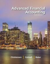 Advanced Financial Accounting by Theodore E. Christensen - Email Delivery