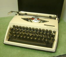 1970's Vintage Collectible Portable Typewriter - Adler Tippa S + Carry Case