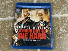 A Good Day To Die Hard Extended Cut Blu Ray & Dvd Bruce Willis