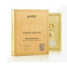 [PETITFEE] Gold Hydrogel Mask Pack 1pack(5pcs) / Korea Cosmetic - Free shipping