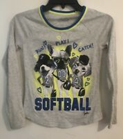 Girl's JUSTICE Gray Long Sleeve Shirt Size 10