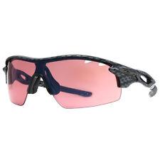 Oakley Radarlock Pitch Vented OO9182-14 Carbon Fiber Shield Sport Sunglasses