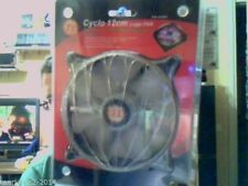 THERMALTAKE Cyclo Logo LED Fan 12cm A2460 ,measures also noise and temperature