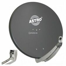 Astro ASP 85cm A Sat Satelliten Alu Aluminium Spiegel Antenne Schüssel anthrazit
