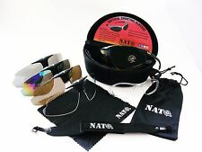 NATO Tactical Safety Shoot Range Glasses UV400 5 Lens Protective eyewear 10 pcs
