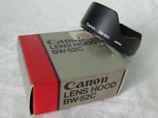 Pre-owned ORIGINAL BOX Canon Lens Hood BW-52C Fine condition