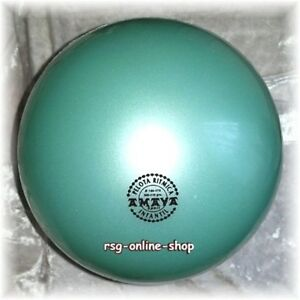RSG Ball JUNIOR BALL Gymnastikball MINT metallic 150-170mm 300g NEU!