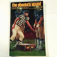 The Absolute Sound Issue Volume 17 Number 82, 1992 TAS ProAc Tablette CAT SL-1