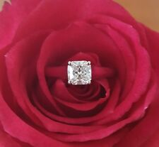 Tiffany & Co. 0.73ct F/VVS1 Lucida Cut Diamond Solitaire Engagement Ring PT950