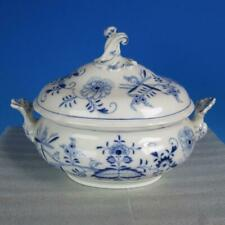 Meissen Crossed Swords - Blue Onion - Covered Soup Tureen