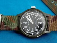 POPULAR VINTAGE TIMEX MENS 24 HR MILITARY WINDUP WATCH, A NICE ONE!
