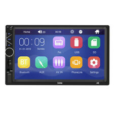 Car MP5 Player 7in Double 2DIN Bluetooth Touch Screen Stereo Radio USB AUX FM