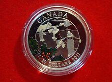 2011 Canada $10 Litlle Skaters 1/2 oz Fine Silver Proof Coin