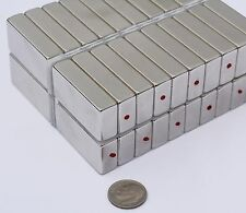 5 / 10 / 25 pcs 10mm X 20mm x 40mm square MAGNETS N45 Neodymium rare Earth (67)