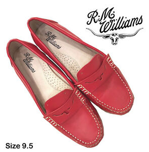 Like NEW R.M.Williams Red Moccasin - Size 9.5 (PAID $219)