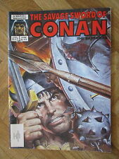 MARVEL COMICS MAGAZINE THE SAVAGE SWORD OF CONAN #113 FINE/VERY FINE (B42)