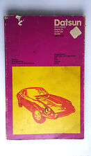 VINTAGE  DATSUN  CHILTON'S REPAIR TUNEUP GUIDE 1961 - 1972 / USED