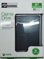 Seagate 2TB External Game Drive for Xbox One Black RESCUE STEA2000700