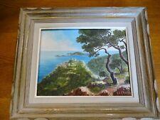 Ancien Tableau peinture  E.A GRAVIER