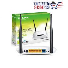 TPLINK TL-WR841N ROUTER WIFI 802.11n 300MBPS WIRELESS STREAMING HD SWITCH 4 LAN