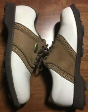 Etonic Mens Shoes Dri-Lite 400 golf shoes soft spikes Pre-Owned Size 3m