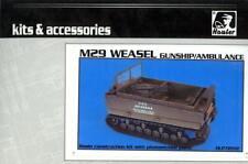 Hauler Models 1/72 American M29 WEASEL Gunship and Ambulance