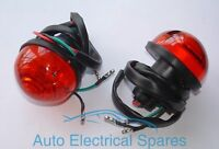 L760 Lucas type rear brake / tail lamp light unit x 2 RED for LAND ROVER