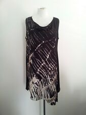 Individual Style! M.E.L size 10 silk blend dress in excellent condition