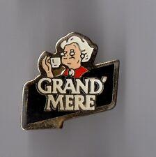Pin's café / Café Grand mère (version leger époxy)