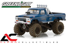 PREORDER GREENLIGHT 49010-A 1:64 1974 FORD MONSTER TRUCK BIGFOOT DIRTY VERSION