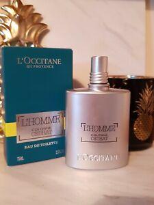 L'Occitane Homme Cologne Cedrat Eau De Toilette 75ml - BRAND NEW IN BOX