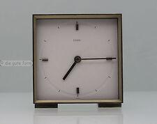 Reduziertes Design... KIENZLE AUTOMATIC --- TISCHUHR --- Quadrat Form 60er Jahre